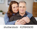 affectionate married middle... | Shutterstock . vector #419840650