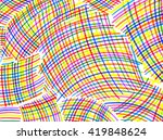 white background with bright... | Shutterstock . vector #419848624