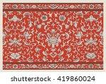 vectorized grunge floral... | Shutterstock .eps vector #419860024