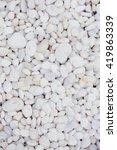 White Pebble Beach Texture