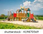 Outdoor Children Playground In...
