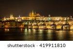 Prague Castle Over Charles...