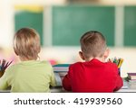 child. | Shutterstock . vector #419939560