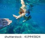 Woman In Blue Sea  Woman...