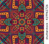 abstract tribal vintage ethnic... | Shutterstock .eps vector #419962726
