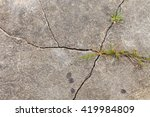the texture of the old cracked...   Shutterstock . vector #419984809