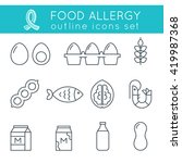 Food Allergy Triggers Flat...