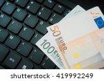 making money online. internet... | Shutterstock . vector #419992249
