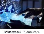 using modern technologies | Shutterstock . vector #420013978