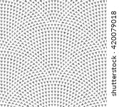 vector seamless geometrical... | Shutterstock .eps vector #420079018