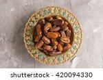 An Ornamental Bowl Of Arabian...