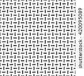 ethnic boho seamless pattern.... | Shutterstock .eps vector #420095089