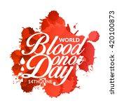 vector illustration of donate... | Shutterstock .eps vector #420100873