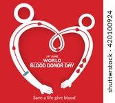 vector illustration of donate...   Shutterstock .eps vector #420100924
