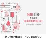 vector illustration of donate... | Shutterstock .eps vector #420100930