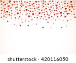 colorful background with heart... | Shutterstock .eps vector #420116050