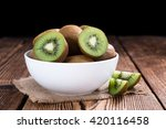 Some Fresh Kiwi Fruits ...