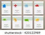 corporate identity vector...   Shutterstock .eps vector #420122989
