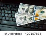 making money online. internet...   Shutterstock . vector #420167836