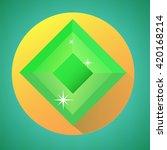 tetrahedral minimalistic shiny...
