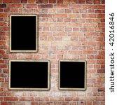 aged brick wall texture | Shutterstock . vector #42016846