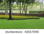 decorated in public park | Shutterstock . vector #42017050