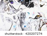 closeup view of an original... | Shutterstock . vector #420207274