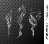 cigarette smoke   Shutterstock .eps vector #420218668