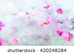 art color and soft blur of... | Shutterstock . vector #420248284