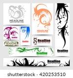 colorful art sketch brochure...