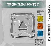 stone user interface element 05....