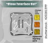 stone user interface element 03....