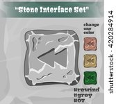 stone user interface element 07....
