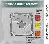 stone user interface element 09....