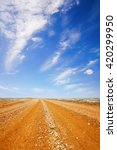 Red Dirt Road In The Australia...
