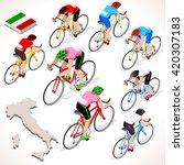Giro Di Italia. Italy Racing...