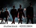 fashion show  a catwalk event ... | Shutterstock . vector #420313804