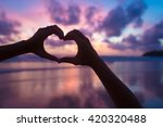sunset in thailand | Shutterstock . vector #420320488