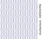 light blue pattern seamless or... | Shutterstock .eps vector #420341956