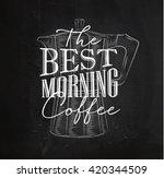 poster lettering the best... | Shutterstock . vector #420344509