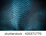 green skin leather texture use... | Shutterstock . vector #420371770