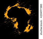 africa | Shutterstock .eps vector #420497380