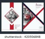 presentation.annual report... | Shutterstock .eps vector #420506848