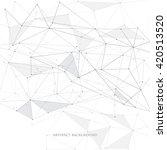 vector illustration of abstract ... | Shutterstock .eps vector #420513520