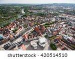 bird's eye view over ulm  shot... | Shutterstock . vector #420514510