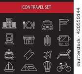 hotel icons  vector.set of... | Shutterstock .eps vector #420550144