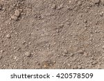 the texture of the ground. the... | Shutterstock . vector #420578509