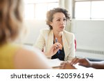 unposed group of creative...   Shutterstock . vector #420596194
