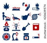 cannabis icon set | Shutterstock .eps vector #420639574