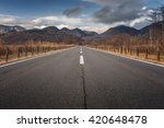 beautiful background road to... | Shutterstock . vector #420648478